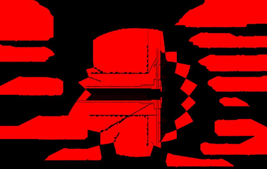 узел установки закладного элемента бассейна