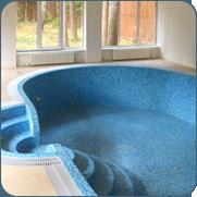 Фото красивого овального бассейна
