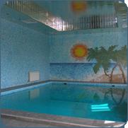 Фото отделки стен помещения бассейна