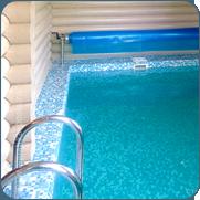 фото маленького бассейна в бане