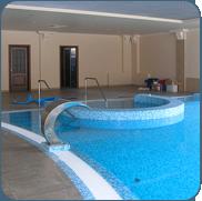 фото частного переливного бассейна