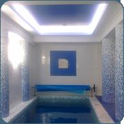 фото небольшого бассейна в доме