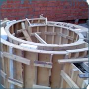 фото изготовления опалубки бассейнов