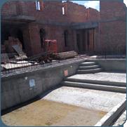 фото строительства бетонных бассейнов в Москве и области