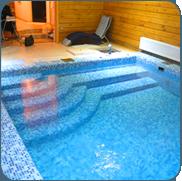 фото бассейна с гидромассажем