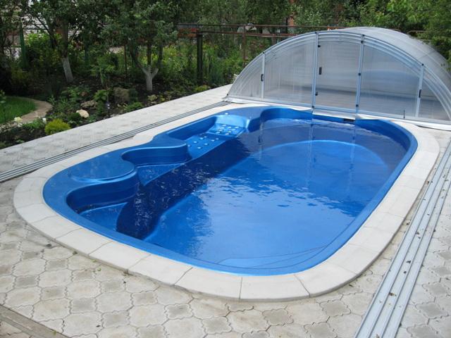бассейн для дачи под ключ
