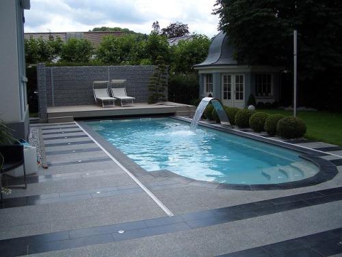 красивый бетонный бассейн под ключ в москве