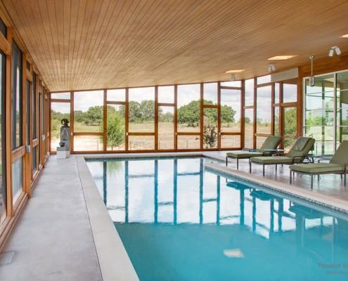 бассейн в фундаменте дома
