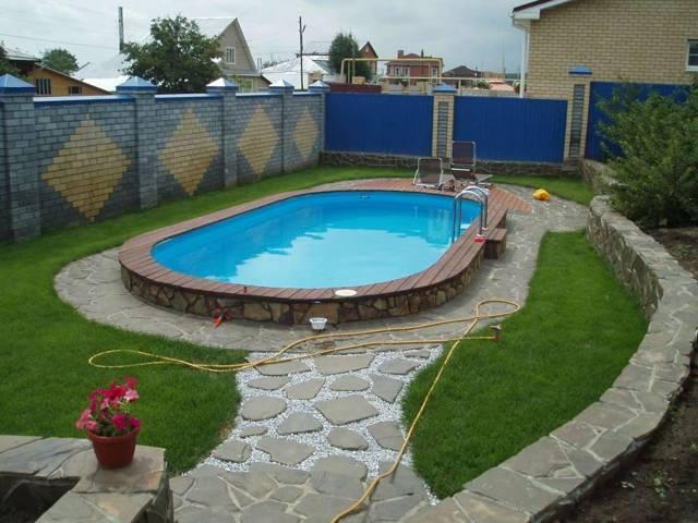 строительство бассейна на участке