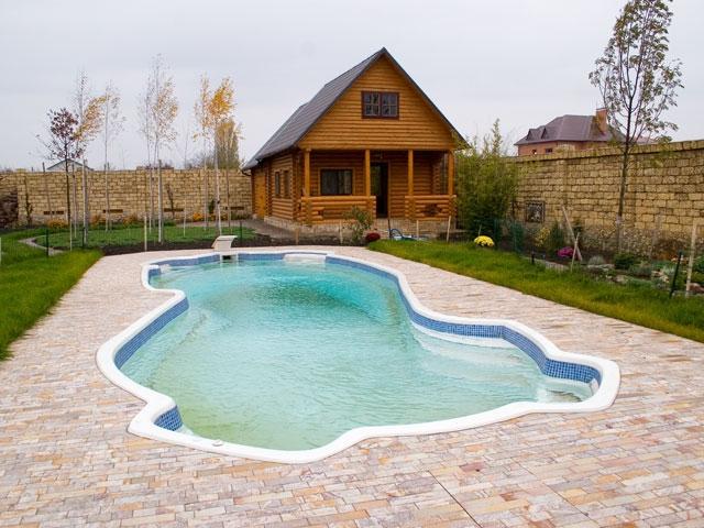 бассейн на своем участке