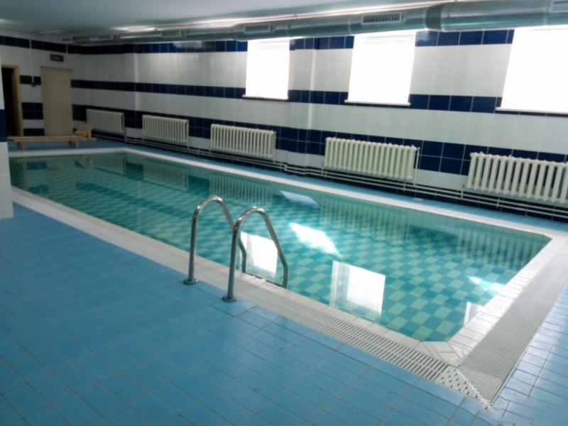 скимерный бассейн в частном доме