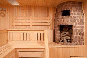 деревянный декор в бане