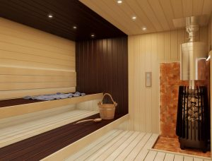 Печь повышенной прочности для русской бани